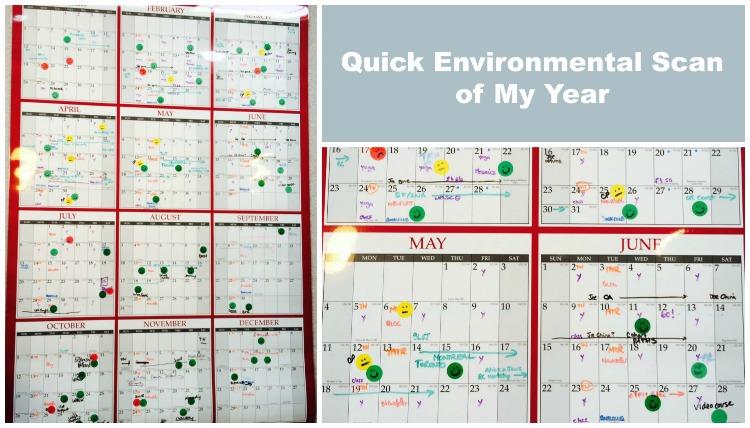 Environmental Scan of Year
